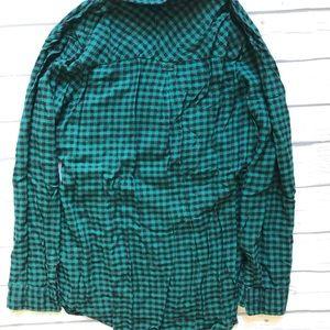 Isabel Maternity by Ingrid & Isabel Tops - Isabel Maternity Flannel Shirt